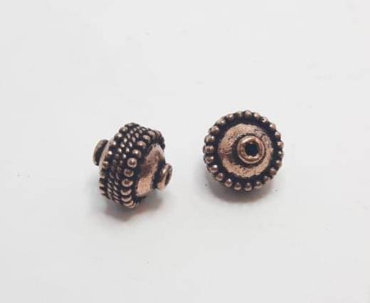 Antique Copper beads - 32019