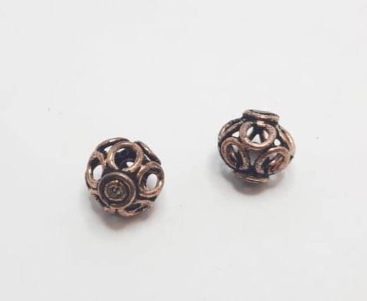 Antique Copper beads - 32020