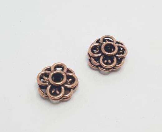 Antique Copper beads - 32030