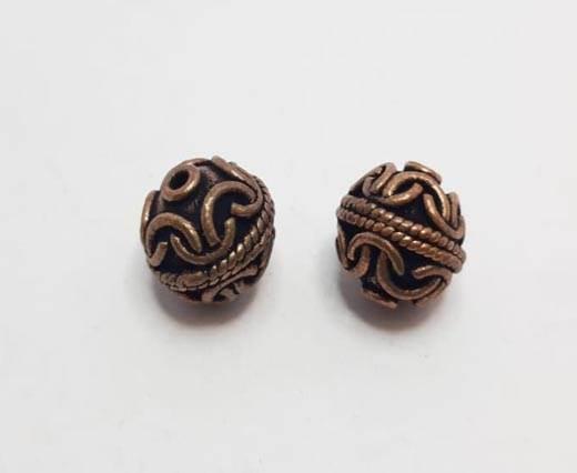 Antique Copper beads - 32031