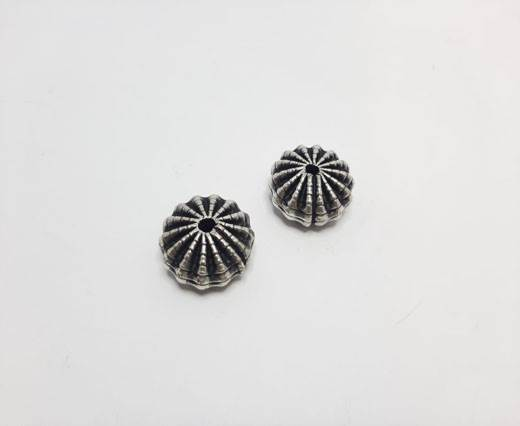 Antique Silver Plated beads - 44000