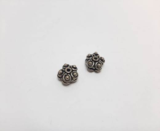 Antique Silver Plated beads - 44047