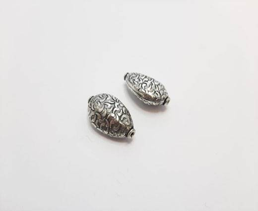 Antique Silver Plated beads - 44260