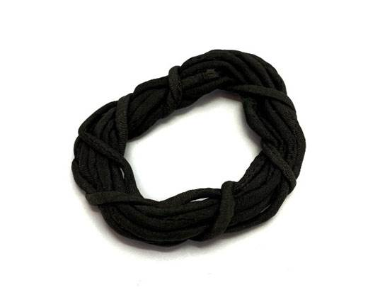 Real silk cords with inserts - 2mm - GRIZZLY