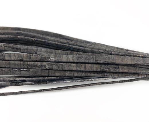 Cork Flat-5mm-DARK GREY
