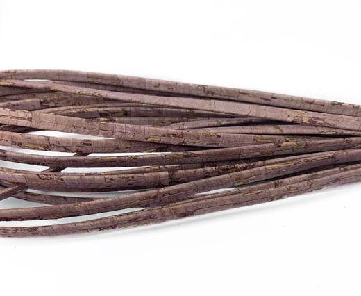 Cork Flat-5mm-LILA