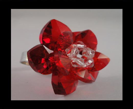 Buy GBJ-Ring-Red-Rose at wholesale prices