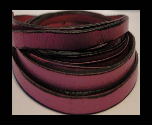 Buy Italian Flat Leather 10mm-Pink at wholesale prices