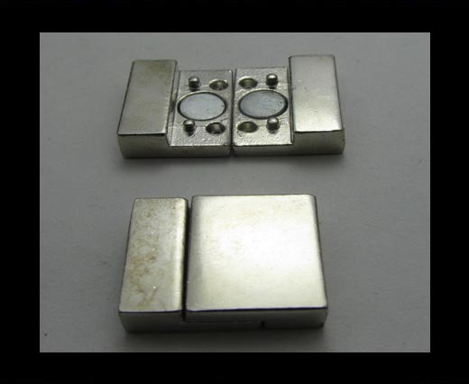 Buy Zamak magnetic clasp ZAML-23 at wholesale prices