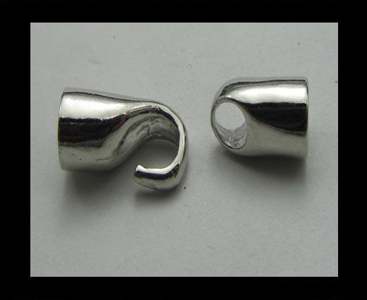 Zamac Hook Clasp ZAML-16 - 5mm
