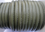 Faux nappa leather 6mm- Army Green