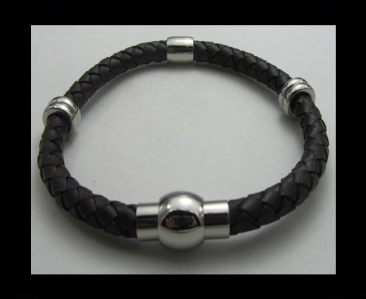 Buy Ready leather bracelets  SUN-B0103 at wholesale prices