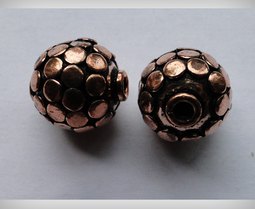 Antique Copper Large Sized Beads