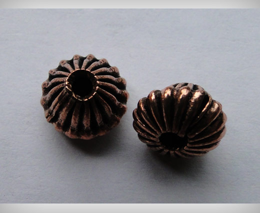 Buy Antique Copper Small Sized Beads at wholesale prices