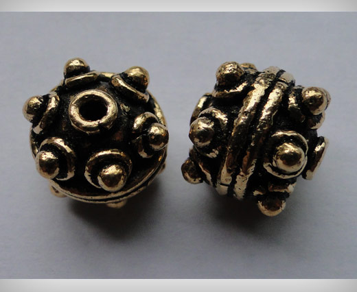 SE-1620-Antique Gold Large Sized Beads