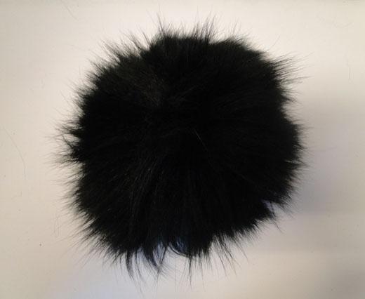 Fox Fur-Black -14cms