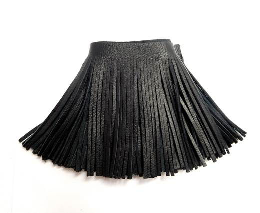 Fringes-8cms-Black