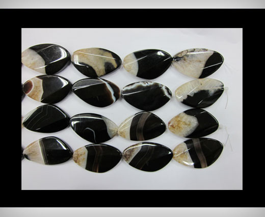 Buy Black Line Flat Agate NS-066 at wholesale prices