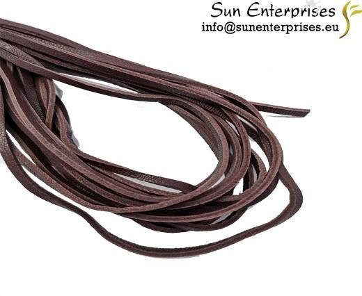 Flat Nappa Leather -3mm- BORDEAUX