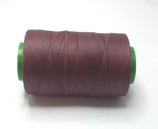 0.8mm-Nylon-Waxed-Thread-Bordeaux (wine red) 665