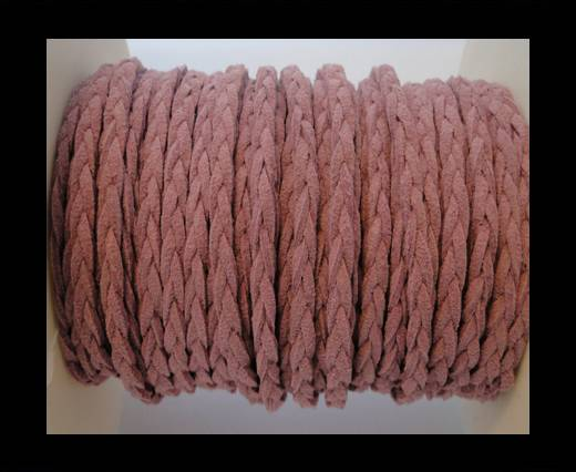 Buy Braided Suede Cords -Purple-5mm at wholesale prices
