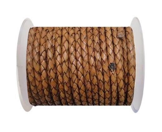 Breided Leather cord 4 mm SE DB 21