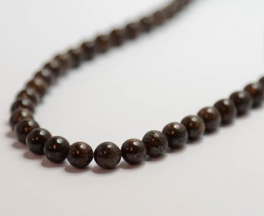 Natural Stones-8mm-Bronzite