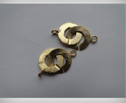 Gold Plated Toggle Clasp - SE-2188