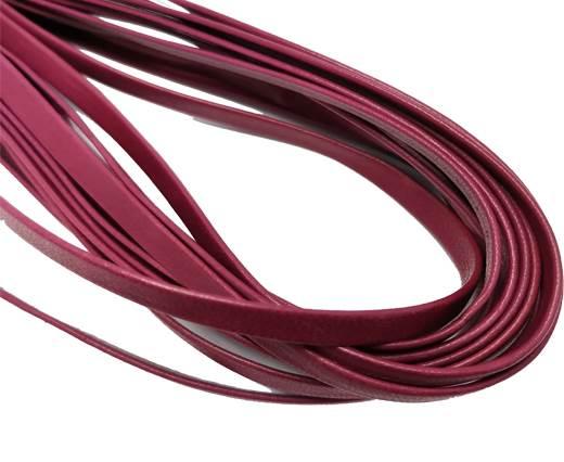 Flat Nappa Leather cords - 5mm - Burgundy[1]