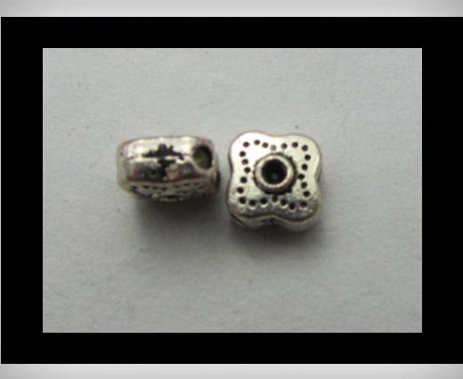 Zamak big hole bead CA-3165