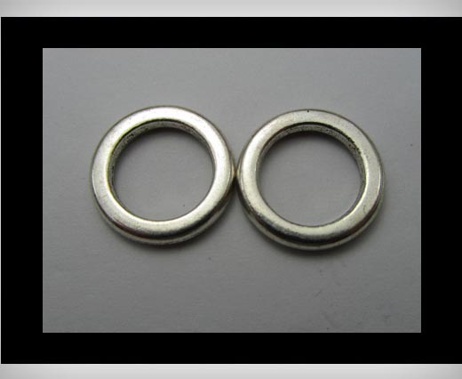 Zamak big hole bead CA-3178