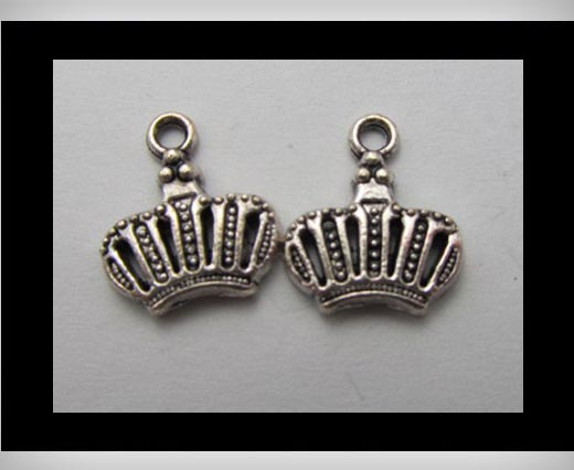Buy Zamak Silver Plated Bead CA-3183 at wholesale prices