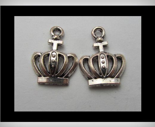 Buy Zamak Silver Plated Bead CA-3202 at wholesale prices