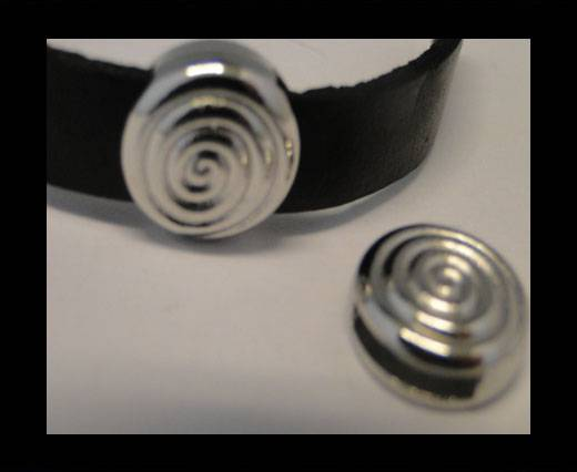 Zamak part for leather CA-3477