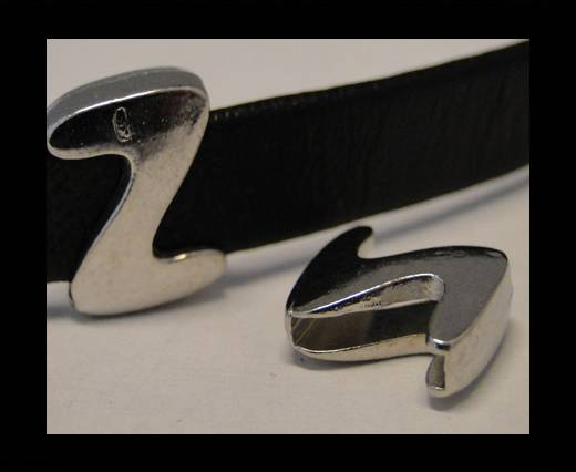Zamak part for leather CA-3586
