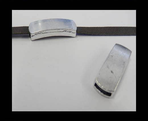 Zamak part for leather CA-3846-7*2mm-Anti-Silver