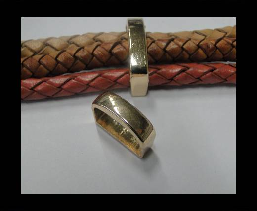 Zamak part for leather CA-4671-Rose Gold