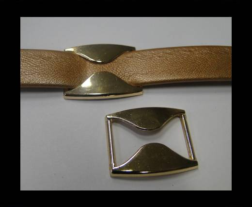 Zamak part for leather CA-4672- Rose Gold