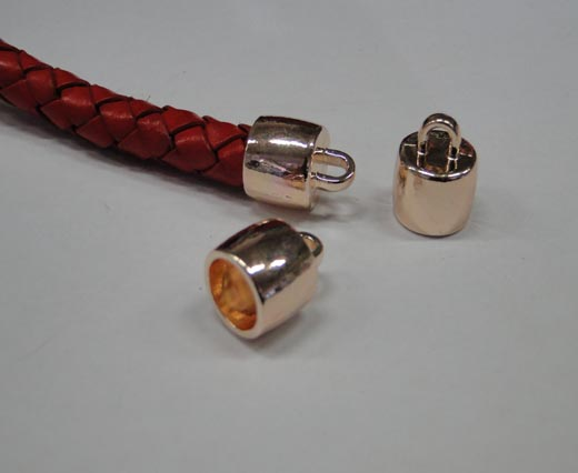 Zamak part for leather CA-4694-Rose gold