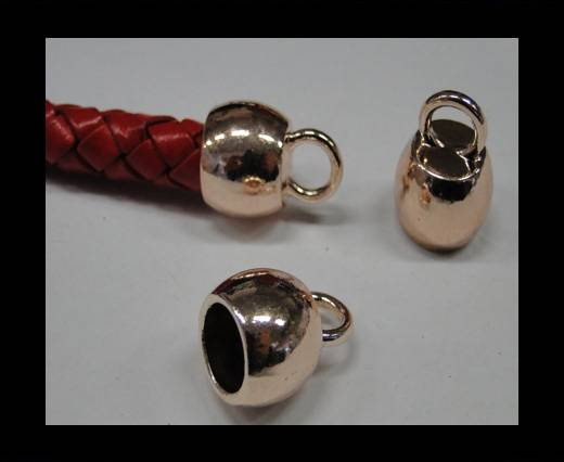 Zamak part for leather CA-4699-Rose gold