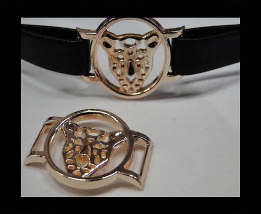 Zamak part for leather CA-4706-Rose gold