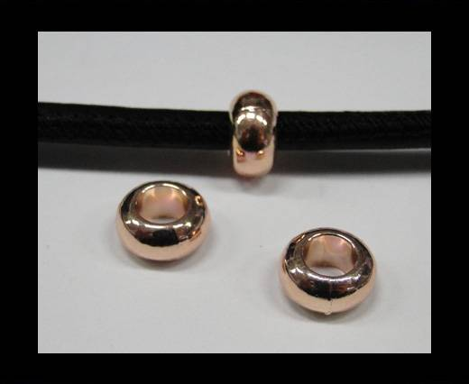 Buy Zamak part for leather CA-4714-Rose gold at wholesale prices