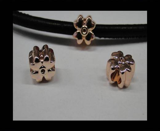 Zamak part for leather CA-4716-Rose gold
