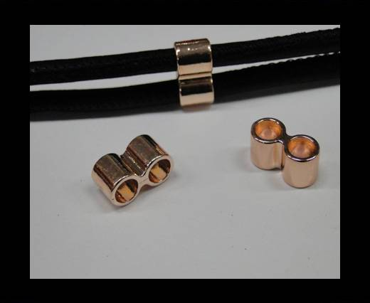 Buy Zamak part for leather CA-4717-Rose gold at wholesale prices