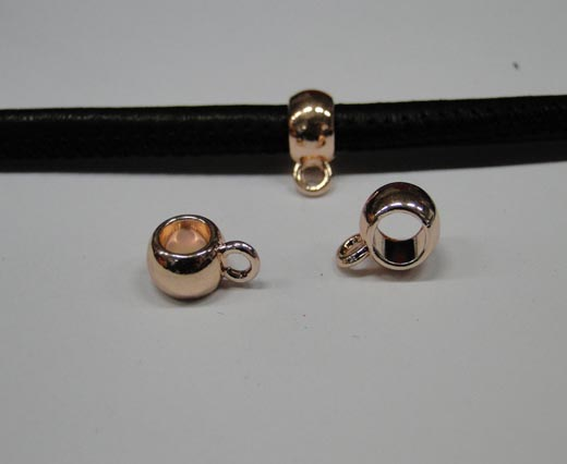Zamak part for leather CA-4738-Rose gold