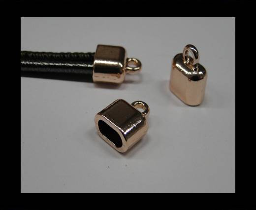 Buy Zamak end cap CA-4752-Rose gold at wholesale prices