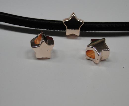 Zamak part for leather CA-4758-Rose gold