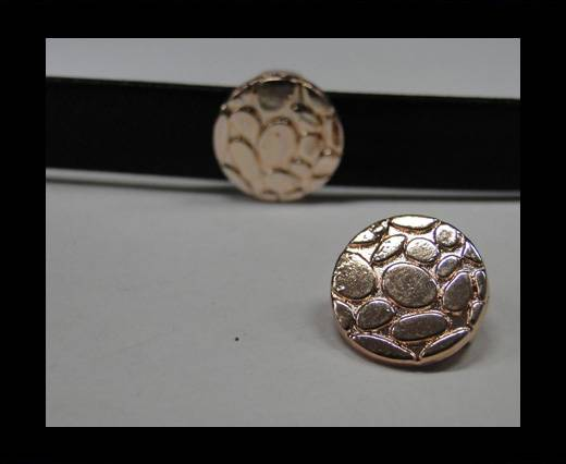 Zamak part for leather CA-4767-Rose gold