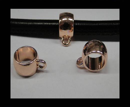Zamak part for leather CA-4770-Rose gold