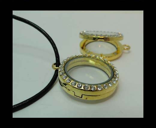 Zamak pendal CA-4789-30mm-GOLD